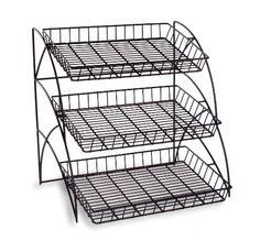 Tiered Wire Shelving Display Rack for Tabletop Use - Black Displays2go,http://www.amazon.com/dp/B005TJ4B6G/ref=cm_sw_r_pi_dp_hcR-sb0BJ9GHBA94