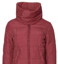 Damen Jacke Parka  Winterjacke  Rot  Fresh Made Neu Gr. M