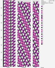 17 around bead crochet rope pattern