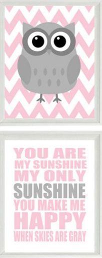 You Are My Sunshine With Owls Quote....  I sing this to my husband all the time...