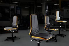 New generation ESD chairs by Bruno Depré