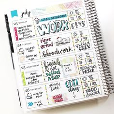 Yeah, I'm late. Planner Layout, Goals Planner, Planner Ideas, Planner Doodles, Mini Happy Planner, Planner Decorating, Erin Condren Life Planner, Planner Organization, Bullet Journal Inspiration