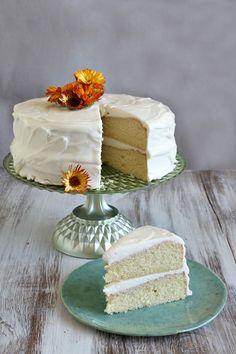 Vanilla & White Cake on Pinterest | Vanilla Cake, Best Vanilla Cake ...