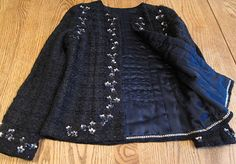 Frabjous Couture: My Chanel-inspired Jacket from Susan Khaljie class