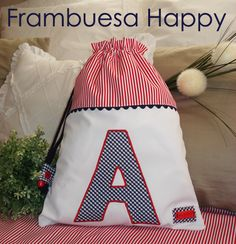 WWW.FRAMBUESAHAPPY.COM no dejes de visitarnos. Be Happy!! Projects To Try, Patches, Couture, Applique Ideas, Gifts, Tote Bags, Balcony, Inspiration, Angel
