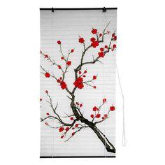 Oriental Unlimited Cherry Blossom Shoji Blinds