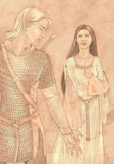 Aegnor and Andreth by =Jenny Dolfen