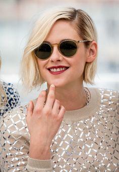 Kristen Stewart: How To Style The Platinum Bob — Sascha Breuer