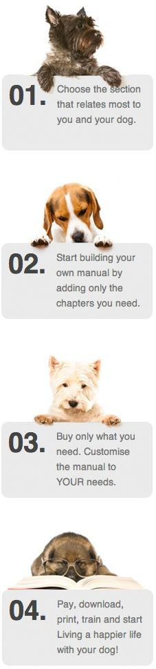 Build your own dog training manual by top trainer and behaviourist Karen Wild