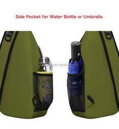 Hippie Shoulder Sling Bag (6) Shoulder Sling, Sling Backpack, Leather Bag, Water Bottle, Backpacks, Canvas, Bags, Tela, Handbags