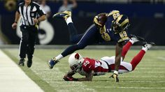 Click to see how the St. Louis Rams owe their Week 1 come from behind victory to a star from each side of the ball: Robert Quinn and Jared Cook.  Written by Anthony Blake