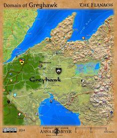 greyhawk wars - Google Search | Greyhawk | Pinterest | Fantasy map ...