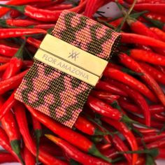 Red Hot Chilli Samaria! Spice up your wardrobe with our Latin Luxe Samaria Coral bracelet. @FLOR AMAZONA #flormazona #chilli #red #hot #fashi...