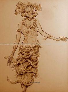 Leyendas Ilustradas: COATLICUE. MITOLOGÍA AZTECA I