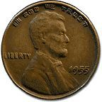 1955 Dbl Die Penny!Last on found sold $25,000.00 Yow!