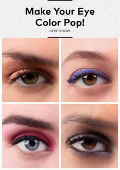 Blue, Brown, Green or Hazel: Find the Right Shadow to Really Make Your Eyes Pop!