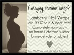 Absolutely in love with the fact that Jamberry is non-toxic, latex free, gluten free, vegan, does not test on animals, and is made in the USA! Safe for you and for baby!