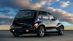 Pt Cruiser - I <3 my car!  Mine is black like this one, but my wheels have more bling!  Sunroof, leather interior, heated seats...all these years later and I STILL love it as much as I did the day I drove it off the lot.