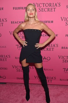 Candice Swanepoel – 2015 Victoria's Secret Fashion Show After Party