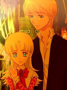 Nadja and Keith - Ashita no Nadja