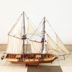 Harvey Model Boat