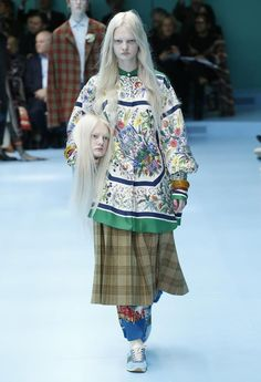 Gucci Fall-Winter 2018-2019  -  - Read full story here: http://www.fashiontimes.it/galleria/gucci-fall-winter-2018-2019/