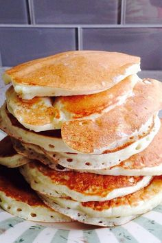 Breakfast Crepes, What's For Breakfast, Breakfast Dishes, Buttermilk Pancakes, Pancakes And Waffles, Best Pancake Recipe Ever, Brunch Recipes, Brunch Food, Desert Recipes