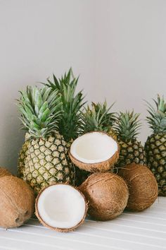 pineapples and coconuts! What more do you need!