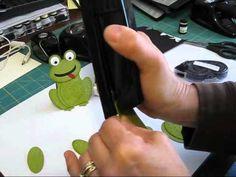 Punch art frog
