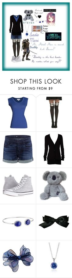 """*TMNT2014: Sadie Mari*"" by blissfull-darkness ❤ liked on Polyvore featuring Velvet by Graham & Spencer, Hot Topic, 3x1, Converse, Dee Berkley, Chanel, Chicnova Fashion and Blue Nile"