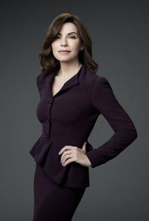 Alicia Florrick in a plum suit #thegoodwife  The Good Wife (TV Series 2009– Now)