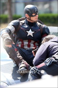 I'm actually digging the new uni for cap in avengers age of ultron. Still not as nice as in the first avengers movie but definitely better than the winter soldier and the first cap movie.