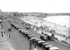 Rambla Pocitos, Montevideo, Uruguay. 1925