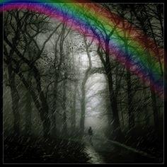 Rainbow & Rain APRIL SHOWERS BRING MAY FLOWERS!