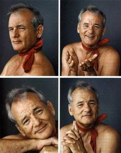 Neck scarves, yes. Can you rock it shirtless? Are you Bill Murray?
