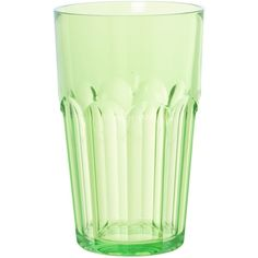 Guzzini Tall Ground Tumbler Happy Hour Green (16 BRL) ❤ liked on Polyvore featuring home, kitchen & dining, drinkware, fillers, object, dining, glassware, acrylic tumblers, green tumblers and green glassware