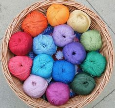 rainbow wool ♥ #colourful #bright #happy