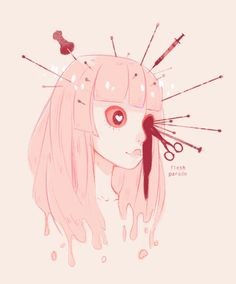 Manga Anime, Anime Art, Candy Gore, Vent Art, Gothic, Fanart, Creepy Art, Pastel Art, Illustrations