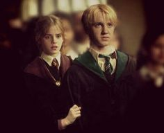 draco malfoy, dramione, harry potter, hermione granger