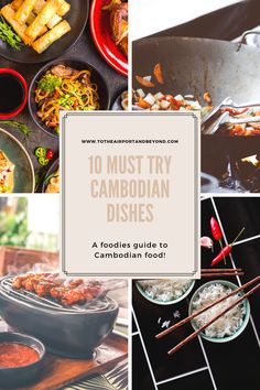 10 Must Try Cambodian Dishes Banana Blossom, Banana Flower, One Pot Dishes, Food Dishes, Cambodian Food, Fried Shallots, Beef Salad, Braised Chicken, Grilled Pork