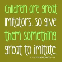 Parents better be modeling forgiveness, kindness, compassion... In our own lives if we expect our kids to possess those kind of qualities.  Kids won't model what they do not see in their home.