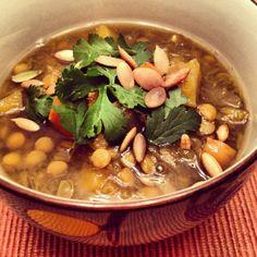 Squash, Carrot, and Lentil Stew - via delightsanddelectables.com
