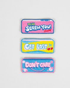 Lazy Oaf Bubble Gum Patch Pack