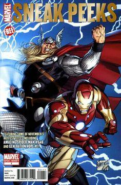 November 2010 Marvel Sneak Peeks #1
