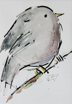 For Sale: Watercolor birds by Richard McKey Watercolor Sketchbook, Watercolor Bird, Watercolor Animals, Watercolour Painting, Painting & Drawing, Watercolor Artists, Watercolor Portraits, Watercolor Landscape, Watercolours