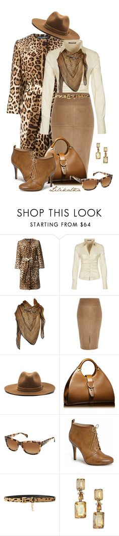 """Pivonka#1188"" by lilikatka ❤ liked on Polyvore featuring Dolce&Gabbana, René Lezard, Roberto Cavalli, River Island, rag & bone, Gucci, Sole Society, Yves Saint Laurent and Oscar de la Renta"