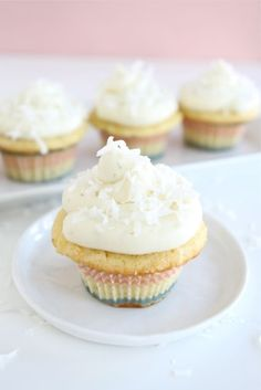 Coconut Lime Cupcakes...YUM!!!