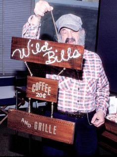 Bill Sackter at the original Wild Bill's Coffee Shop (circa Uptown Bill's is also named for Sackter. Coffee Shop, The Originals, Decor, House, Coffee Shops, Coffeehouse, Decoration, Home, Decorating