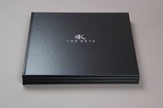 The Keys Brochure, a case bound brochure for luxurious real estate development in Portugal.via Flickr.
