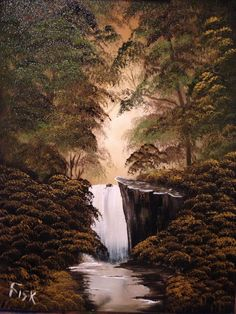 Waterfall painting i did today